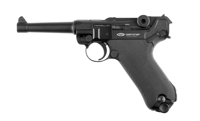 Gletcher Parabellum Uger German Replica Blowback Airpistol
