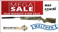 walther camo limited edition rifle