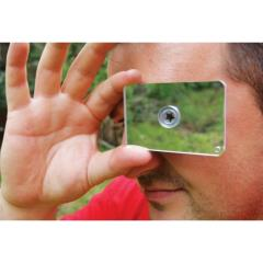 floating signal flash mirror