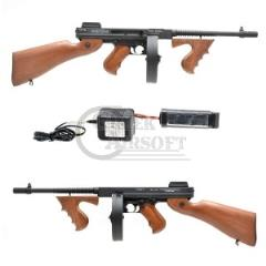 airsoft thompson machine gun chigago