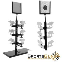 air pistol stand multi target