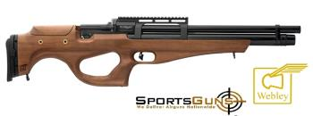 webley mastiff walnut stock