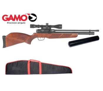 Find air arms s400  22 rifle length beech stock pre charged