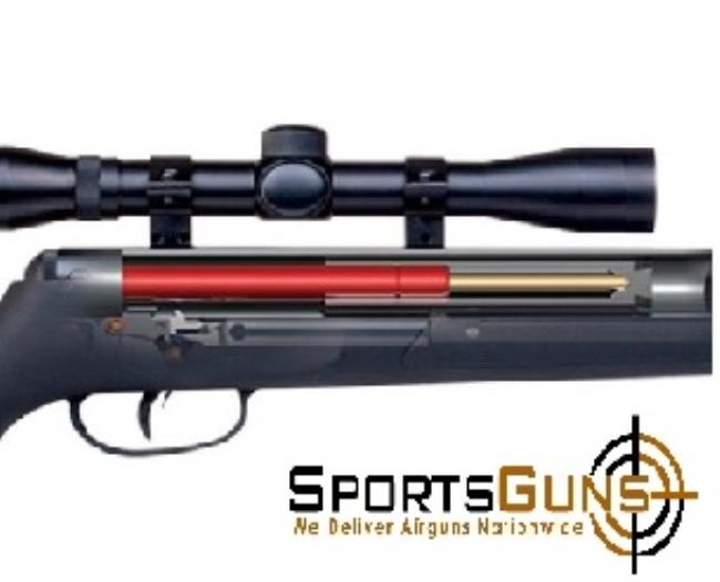 CROSMAN FIRE AIR RIFLE np,nitro piston,airgun,spring,pest